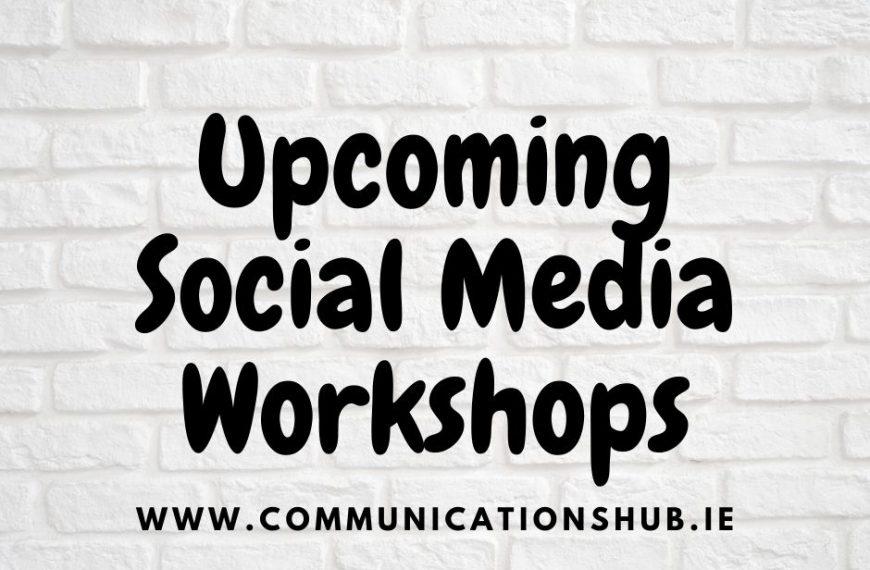 Social Media Workshops Online