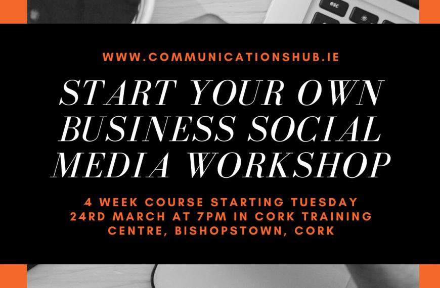 Start your own Business Social Media Workshop